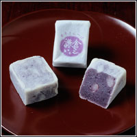 紫いもきんつば 鎌倉いとこ